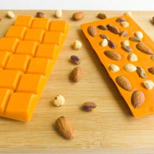 Portakallı Beyoğlu Tablet Çikolata | 100 Gram