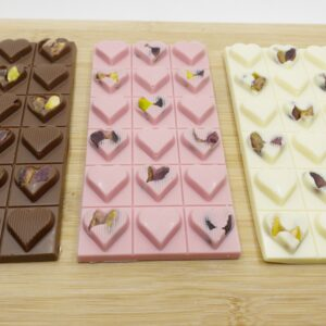 Sevgiliye Üçlü Tablet Çikolata